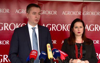 Fabris Peruško i Irena Weber (Foto: Dnevnik.hr)