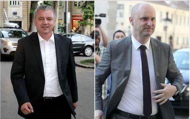 Darko Horvat i Tomislav Tolušić (Foto: PIXSELL)