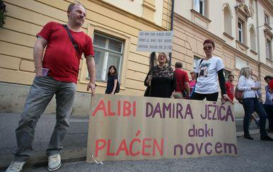 Bivši radnici (Foto: Jurica Galoic/PIXSELL)