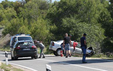 Murter - smtrno stradao u izlijetanju vozila (Foto: Dusko Jaramaz/PIXSELL)