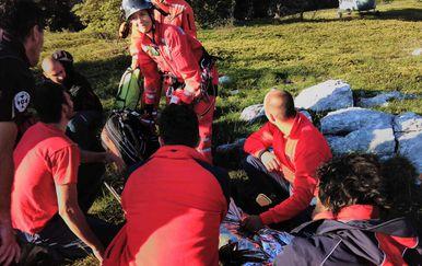 Akcija spašavanja planinarke na Velebitu (Foto: GSS) - 5