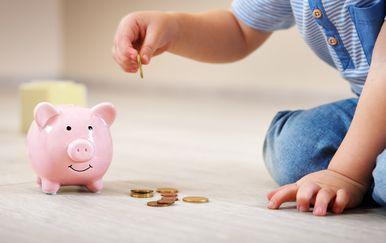 Upoznajte dijete sa svim prednostima štednje.