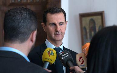 Sirijski predsjednik Bašar al Asad (Foto: AFP)