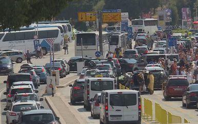 Prometna regulacija u Splitu (Foto: Dnevnik.hr)