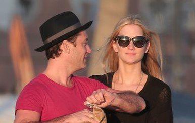 Jude Law i Pillipa Coan (Foto: Profimedia)