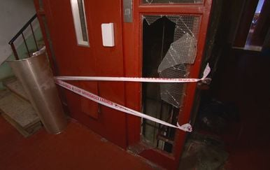 Mjesto eksplozije u zgradi u Prečkom (Foto: Dnevnik.hr) - 1