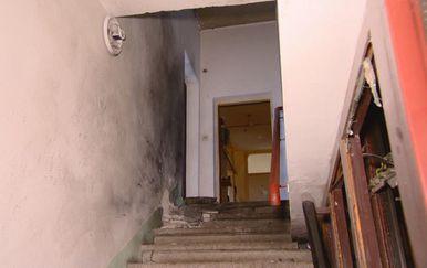 Mjesto eksplozije u zgradi u Prečkom (Foto: Dnevnik.hr) - 2