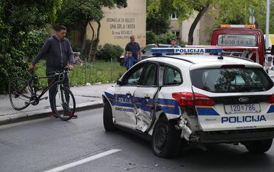 Prometna nesreća u Splitu (Foto: Ivo Cagalj/PIXSELL) - 1