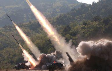 Sjeverna Koreja, testiranje projektila (Foto: KCNA VIA KNS / AFP)