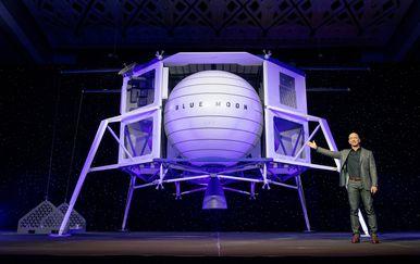 Jeff Bezos i Blue Moon