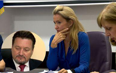 Sukob Ministra Kuščevića i predsjednice Povjerenstva (Foto: Dnevnik.hr)