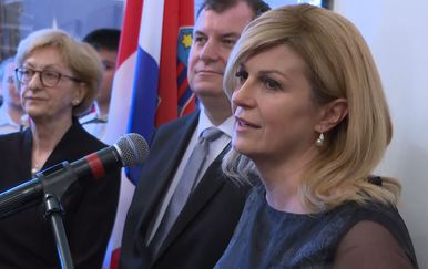 Predsjednica Kolinda Grabar-Kitarović sa suprugom Jakovom u Kanadi (Foto: DNEVNIK.hr)
