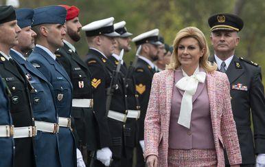 Predsjednica Kolinda Grabar-Kitarović (Foto: Adrian Wyld/Press Association/PIXSELL)