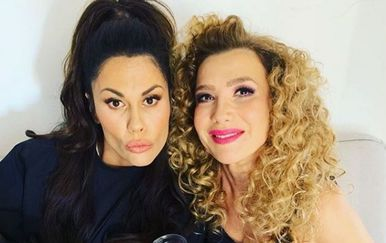 Ecija Ojdanić i Viktorija Rađa (Foto: Instagram)