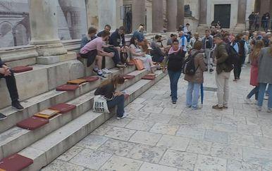 Najam površina u Splitu (Foto: Dnevnik.hr)