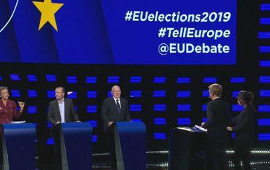 Debata za predsjednika Europske komisije (Foto: Dnevnik.hr)