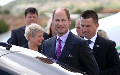 Britanski princ Edward stigao u Split (Foto: Miranda Cikotic/PIXSELL)