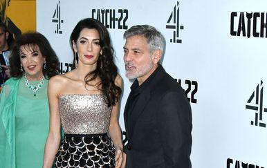 George Clooney, Amal Clooney i Baria Alamuddin (Foto: Profimedia)