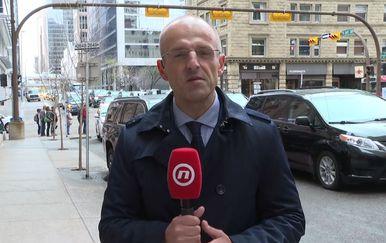 Mislav Bago o predsjedničinu posjetu Kanadi (Foto: Dnevnik.hr)