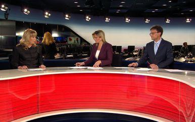 Ivana Petrović gostuje u Dnevniku Nove TV (Foto: Dnevnik.hr) - 1
