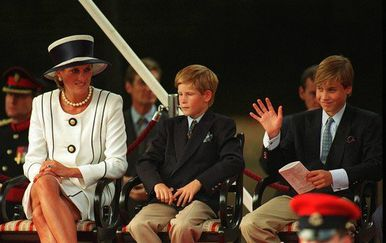 Princ William, princ Harry i princeza Diana (Foto: Profimedia)