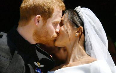Princ Harry i Meghan na dan vjenčanja 19. svibnja 2018. godine
