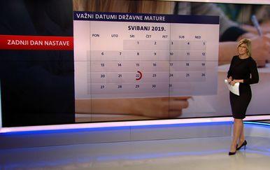 Romina Knežić o državnoj maturi (Foto: Dnevnik.hr)