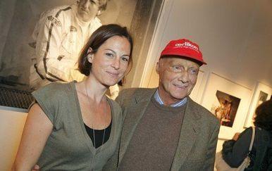 Niki Lauda i Birgit Wetzinger (Foto: Profimedia)