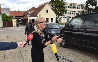 Majka osuđene Nuše Bunić (Foto: Pixsell,Vjeran Zganec Rogulja)