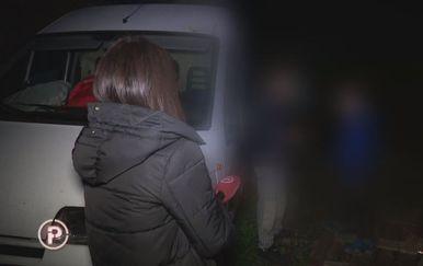 Ema Branica i vlasnik psa koji napada ljude (Foto: Dnevnik.hr)