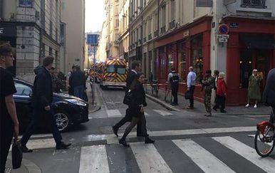 Eksplozija u Lyonu (Foto: AFP)