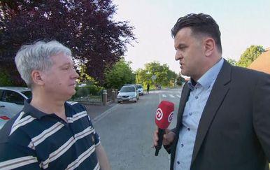 Prometni stručnjak Rajko Horvat i Andrija Jarak (Foto: Dnevnik.hr)