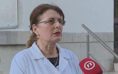 Milka Brzović, voditeljica Odjela za nadzor nad cijepljenjem (Foto: Dnevnik.hr)