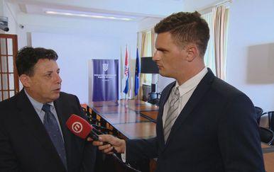 Đuro Sessa, predsjednik Državnog izbornog povjerenstva, i Dino Goleš (Foto: Dnevnik.hr)