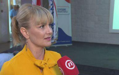 Kandidatkinja liste Neovisni za Hrvatsku Bruna Esih (Foto: Dnevnik.hr)
