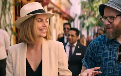 Charlize Theron i Seth Rogen (Foto: Youtube Screenshot)