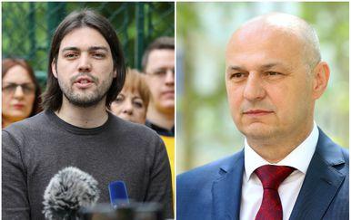Ivan Vilibor Sinčić i Mislav Kolakušić (Foto: Pixell)
