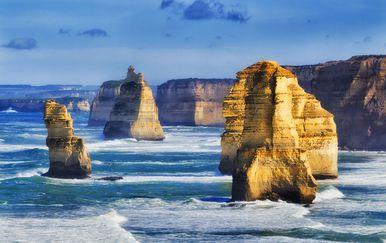 Dvanaest Apostola na Velikoj oceanskoj cesti u Australiji
