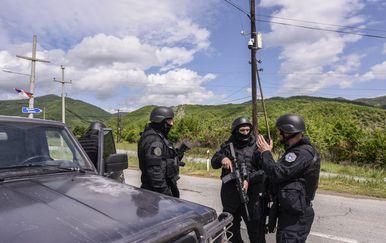 Akcija specijalne policije na Kosovu (Foto: AFP)1