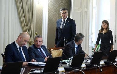 Sjednica Vlade (Foto: Marko Lukunic/PIXSELL)