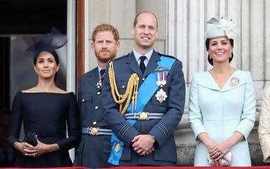 Princ Harry, Meghan Markle, princ William, Kate Middleton (Foto: Getty Images)