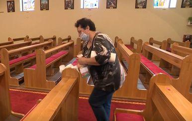 Pripremanje crkve za povratak vjernika - 1
