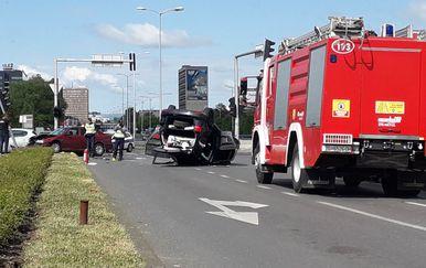 Prometna nesreća kod Nacionalne sveučilišne knjižnice