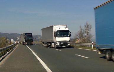 Kamion, ilustracija