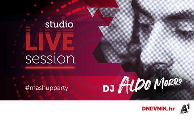 DJ Aldo Morro rasplesat će vas večeras u Studio LIVE Sessionu