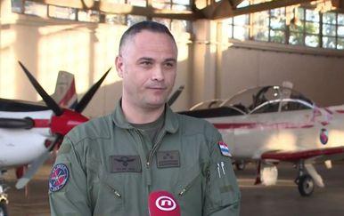 Brigadir Željko Ninić, zapovjednik 93. krila Hrvatskog ratnog zrakoplovstva