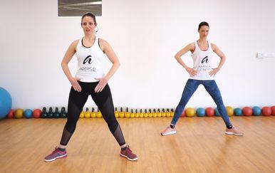 Mini trening za cijelo tijelo bez rekvizita