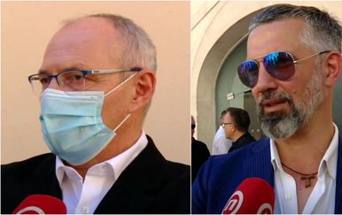Stjepan Adanić i Vladislav Veselica