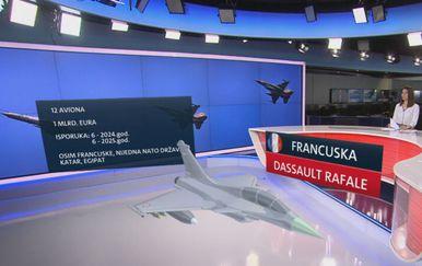 Ponuda francuskog borbenog aviona