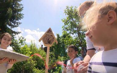 Samoborska djeca napravila hotel za pčele